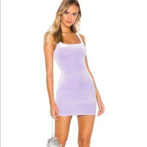 Jenny Square Neck Dress Lavender